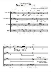 satb arreglo coral pdf