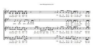 satb partitura coral a 4 voces pdf